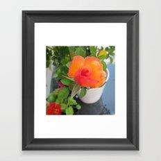 Rosey Bright Framed Art Print