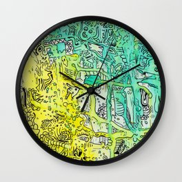 Water color 1 Wall Clock