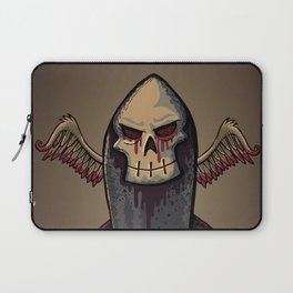 Skull Bomb Laptop Sleeve