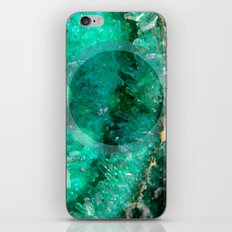 Crystal Round III iPhone & iPod Skin