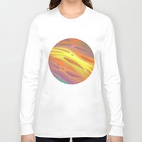 aurora Long Sleeve T-shirts featuring Aurora by Ma. Luisa Gonzaga