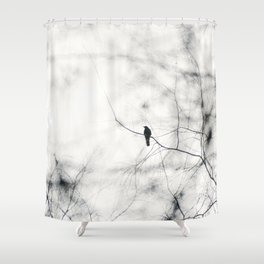 Freebird iii - Freebirds Series Shower Curtain