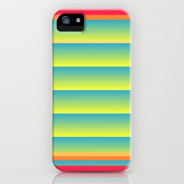 Gradient Fades v.5 iPhone Case