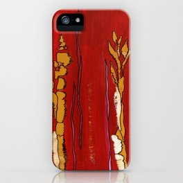 Playful Lines iPhone Case