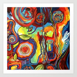 Colorfulness 1 Art Print