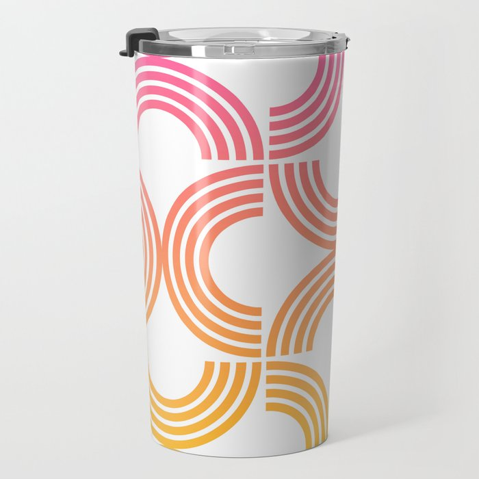 Deco Geometric 05B Travel Mug