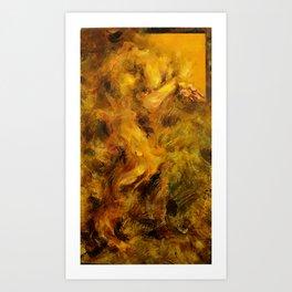 Yellowed Male Art Print