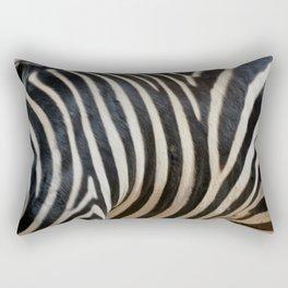 Zebra Print Rectangular Pillow