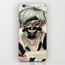 Anime: tokyo ghoul - kaneki Ken drawing iPhone Skin