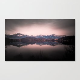 Avigliana Lake Canvas Print