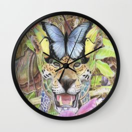 The Borucas. Wall Clock