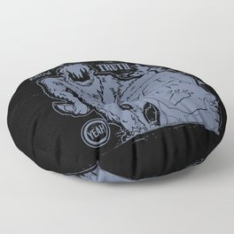 yeti rocks Floor Pillow