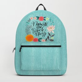 Pretty Swe*ry 2.0: Namaste the Fuck Away Backpack