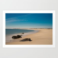 Cape May Beach Art Print