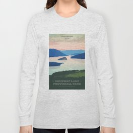 Shuswap Lake Provincial Park Long Sleeve T-shirt