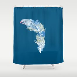 Feather Art Shower Curtain