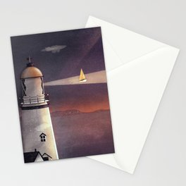 Sea of Light Stationery Cards