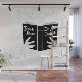 Book Lover, Do Not Disturb II Wall Mural