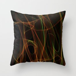 Summer lines 25 Throw Pillow