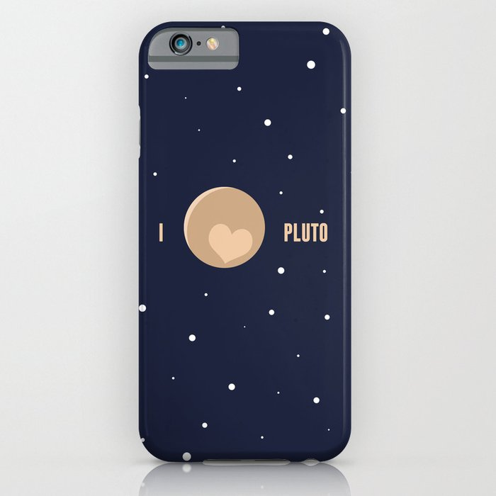 I Heart Pluto iPhone Case by aaronsmithdesign  Society6