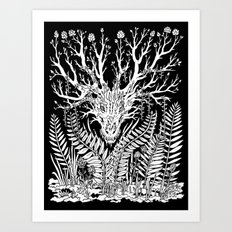 Forest Dragon Art Print