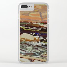 Tom Thomson Dark Waters spring 1916 Canadian Landscape Artist Clear iPhone Case