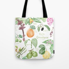 Wintertime Fruit in the Greenhouse Tote Bag
