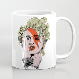 The Queen of pop as Bowie  Coffee Mug