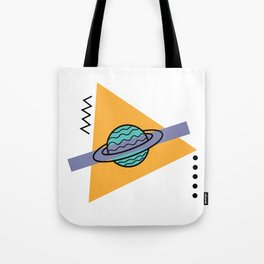 planet of the shapes Tote Bag