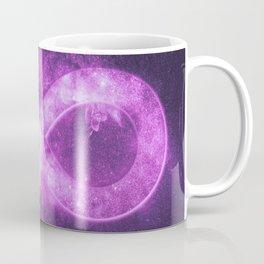 Infinity symbol or sign. Abstract night sky background Coffee Mug