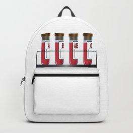 Blood Group Samples Backpack