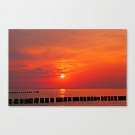 Ocean evening IV Canvas Print