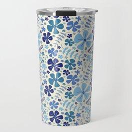 My Little Garden blue & green Travel Mug