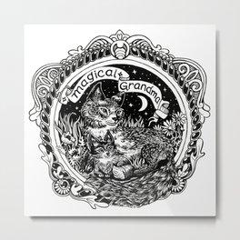 Magical Grandma Metal Print