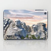 rushmore iPad Cases featuring Presidential by Judith Lee Folde Photography & Art
