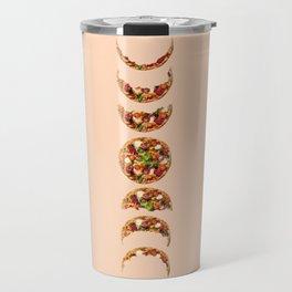 Phases of bitten pizza Travel Mug