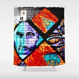 Laneway Stare Shower Curtain