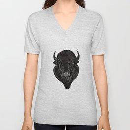 Buffalo Head Unisex V-Neck
