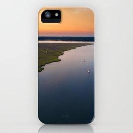 Stono River Sailboats iPhone Case