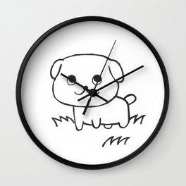 Puppy Wall Clock
