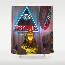 PSYCHIC Shower Curtain