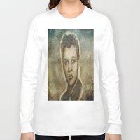 elvis presley Long Sleeve T-shirts featuring Elvis Presley by Dan99