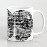 dot Mugs featuring Dot by Tillytyler