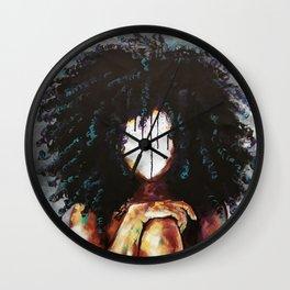 Naturally I Wall Clock