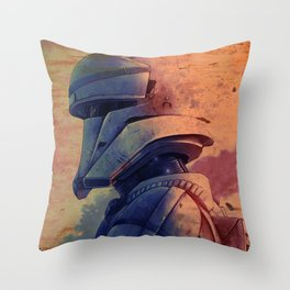 Rogue One Óleo Throw Pillow