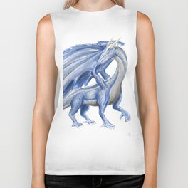Blue Dragon Biker Tank