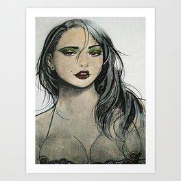 AMAZONA Art Print