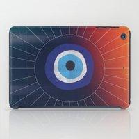 evil eye iPad Cases featuring Evil Eye by DuckyB