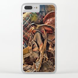 The Old Tack Room Clear iPhone Case