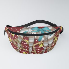 I Come Beh-eh-eh-eh-rring Gifts Fanny Pack